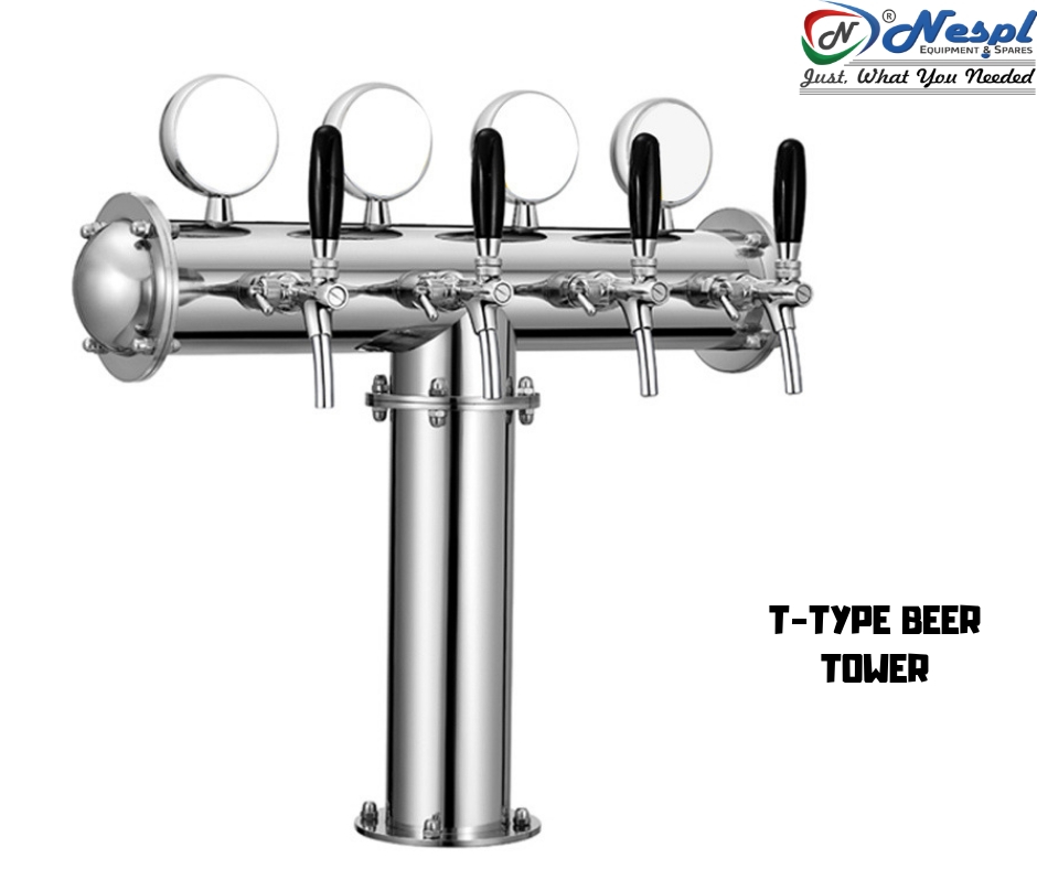 Beer Taps as Bar Equipment Parts
