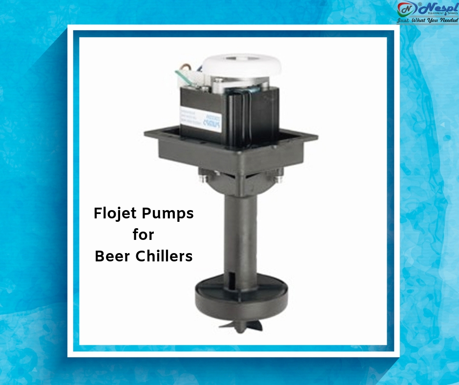 Flojet Pumps for Beer Chillers