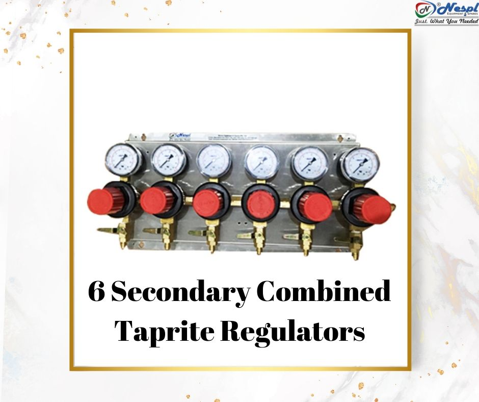 6 Secondary Combined Taprite Regulators - NATRON
