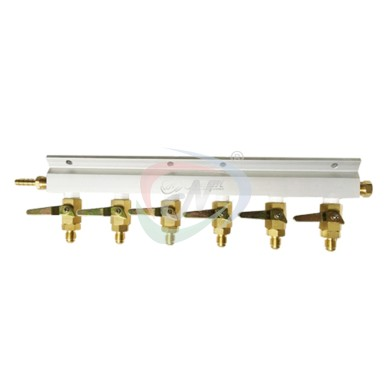CO2 DISTRIBUTOR 6 WAY