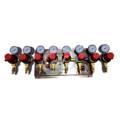 8 WAY SECONDARY REGULATOR