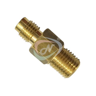 CO2 REGULATOR TO HIGH PRESSURE CONNECTOR BRASS