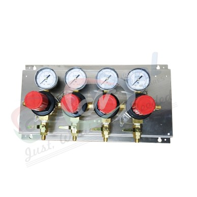 4 Way Secondary Regulator Set