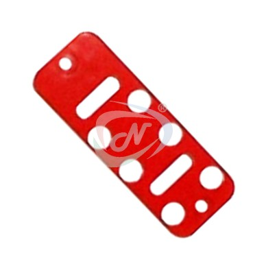 PH10-2-8-R Button Plate (Red) 8 button