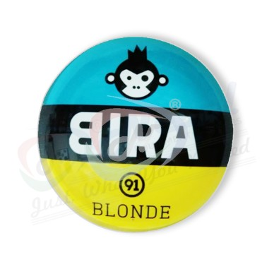 Bira Blonde Round Fish EYE Medallion