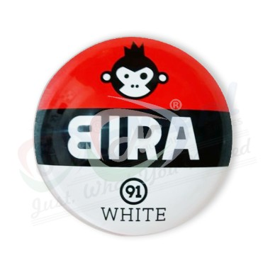Bira White Round Fish EYE Medallion