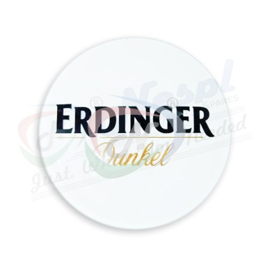 Erdinger Dunkel Round FISH Eye Medallion