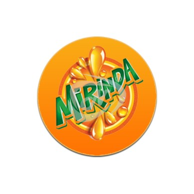 MEDALLION LENSE -MIRINDA ORANGE