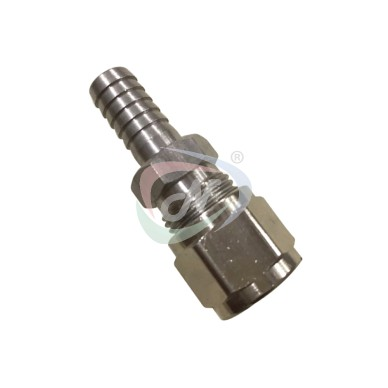 3/8'' Barbed Swivel Nut