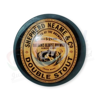 Shepherd Neame Double STOUT FISH EYE Medallion