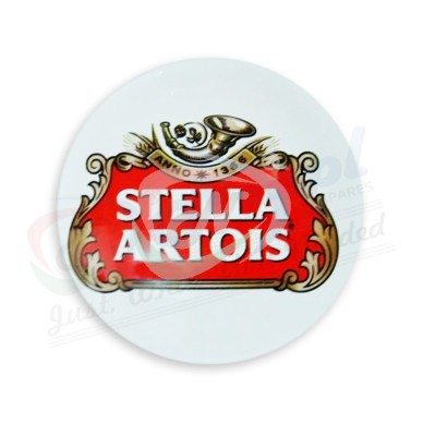 Stella Artois Round Fish Eye Medallion