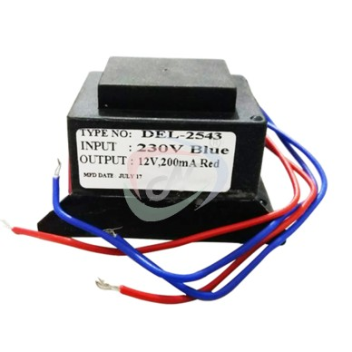 12V-SEALED TRANSFORMER FOR EMS.